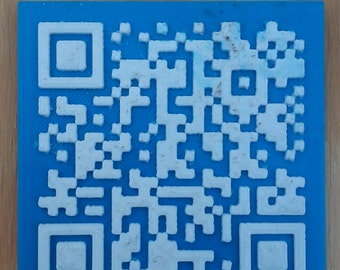3D Printed Custom QR Codes