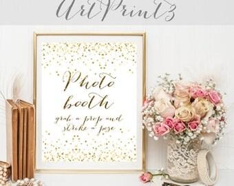 Photo Booth Sign Printable, Printable Wedding Signs, Printable Wedding Photo Booth Sign, Wedding Prop Photo Booth Sign