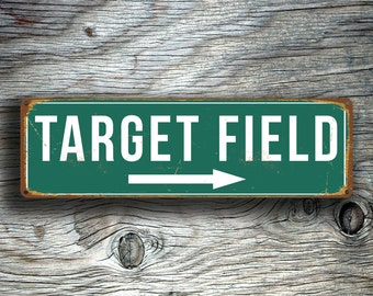 TARGET FIELD SIGN, Vintage style Target Field Sign, Twins Signs, Home of the Minnesota Twins, Baseball Signs, Minnesota baseball signs