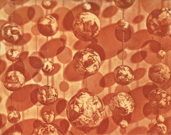 Solar System: Abstract etching