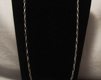 Advanced Silverwork Vintage Hopi/ Navajo Tufa Cast Silver Necklace Old Vtg