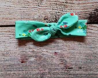Riley Blake Vintage Floral Knot Headband
