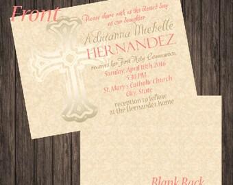 First Communion Announcement/Invitation