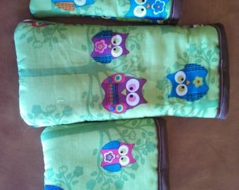 Owls 3 Piece Purse Pal Set
