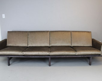 Hans Wagner Mid Century Modern GE 236/4 Sofa / Contemporary Style
