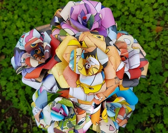 Pokemon Book Bouquet
