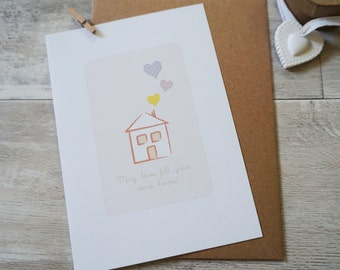 May Love Fill Your New Home card
