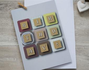 Birthday! card
