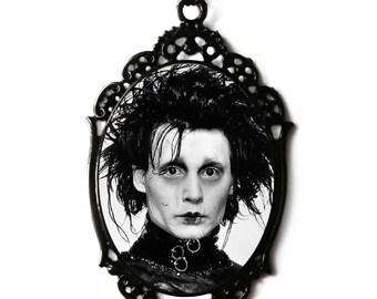 Edward Scissorhands Cameo Necklace