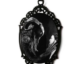 Pan's Labyrinth Cameo Necklace