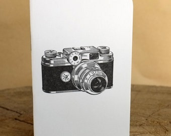 Letterpress Booklet, Vintage Camera