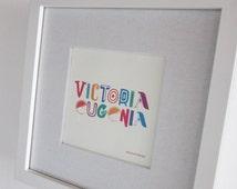 Personalized Name Wall Decor - Boy and Girl Art Wall - Custom Name Design - Printable Boy or Girl Name Wall Decor