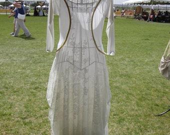 Ivory Medieval Dress