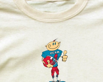 Happy Football Player Shirt