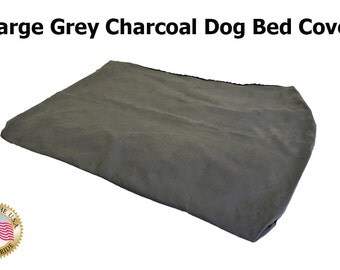 """XL Grey Charcoal Bed Cover   40"""" X 35"""" X 4"""""""
