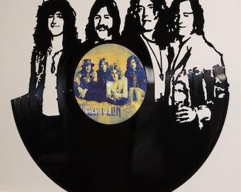 Led Zeppelin Record Wall Art