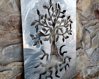 Tree of Life, Wall Art, Metal Art, Plasma Cut Metal