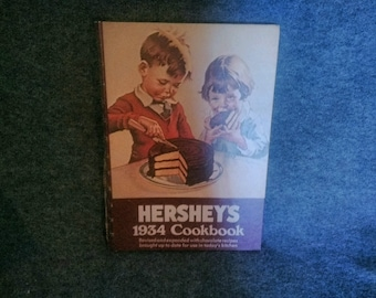 Hersheys 1934 Cookbook