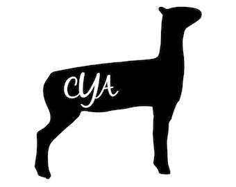 Show Lamb Monogram