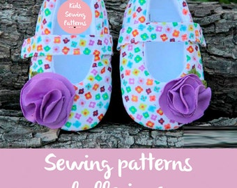 Sewing PAtterns Baby shoes Ballerinas