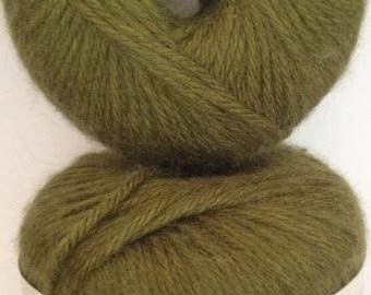 Patons Angora Bamboo Yarn, Color: Everglade--Medium Olive, Material-- Bamboo,  Wool,  Angora,   Worsted Weight