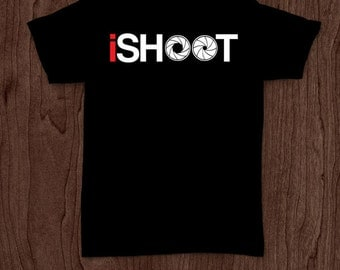 iShoot funny t-shirt tee shirt tshirt photography shirt photographer shirt camera photographer gift men's women's picture shooting pictures