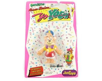 1991 Boo Boo Bear Hanna Barbera Yo Yogi Bendems Vintage Toy