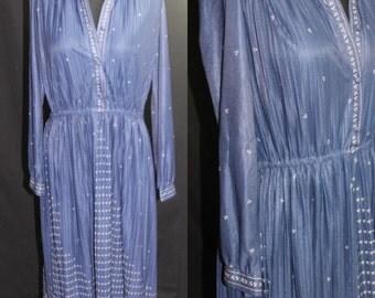 Blue Vintage Lori Ann Dress