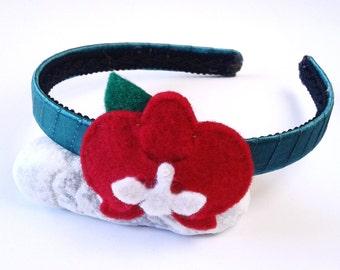 Baby Headband, Girl headband - Orhid, Hair Accessories, flower Headband