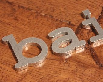 Individual Metal Letters