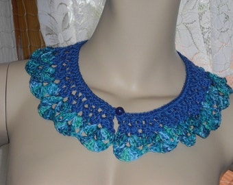 Collar collar - lace - crochet - crochet collar-