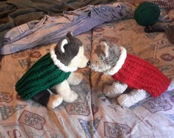 Christmas dog sweater