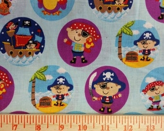 Pirate Fabric By The Yard