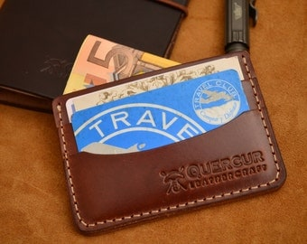 Card holder in Brown tobacco