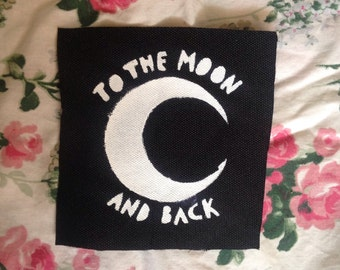 To The Moon and Back Small Patch