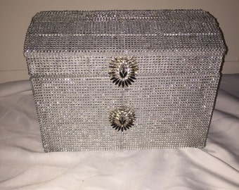 Crystal Wedding Card Box