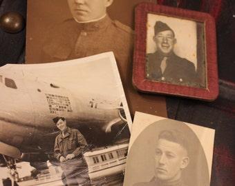 Military Men Vintage Photos