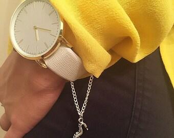 Seahorse Watch Chain