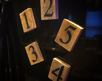 Rustic Reclaimed Wood Magnets