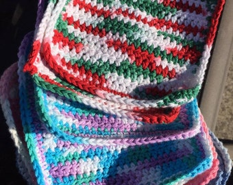 Crochet Face and Dish Cloths