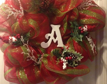 It's Beginning to Look a Lot like Christmas small monogram
