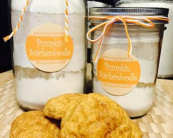 Pumpkin Snickerdoodle Cookie Mix