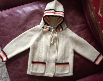 Vintage Baby Sweater - Size 24 Months