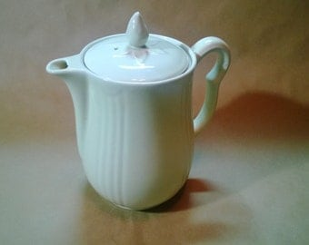 1940s Ceramic Pitcher with Lid