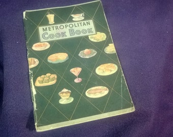 "Antique, ""The Metropolitan Cook Book"" of the 1930s"