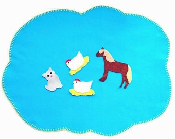 Felt Board Stories for Preschoolers - Turquoise - Felt Board - Imagination