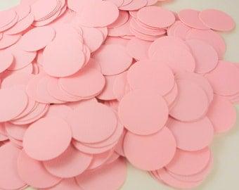 Paper Confetti - 200 pieces - Pink confetti - Round Confetti - party confetti