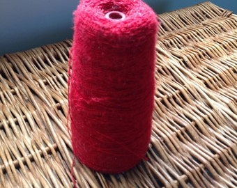 Red Thin Weaving Cotton