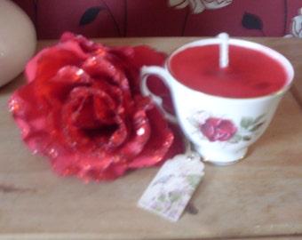 peppermint tea cup