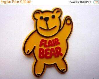 MAY SALE VINTAGE Flair Bear badge